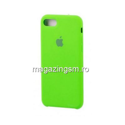 Husa iPhone 7 Silicon Verde