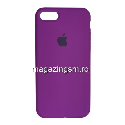 Husa iPhone 8 Silicon Violet