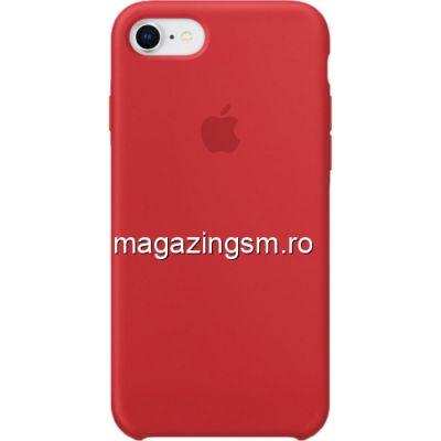 Husa iPhone 8 Silicon Rosie