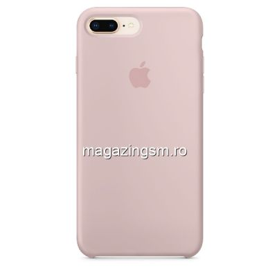 Husa iPhone 7 Plus / 8 Plus Silicon Pink Stand