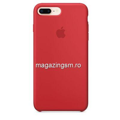 Husa iPhone 7 Plus / 8 Plus Silicon Red