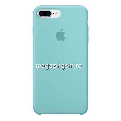 Husa iPhone 7 Plus / 8 Plus Silicon Sea Blue