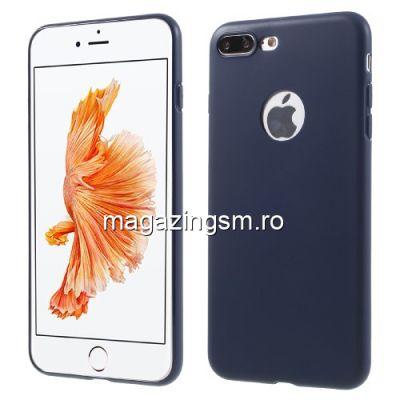 Husa iPhone 8 Plus TPU Matuita Albastru Inchis