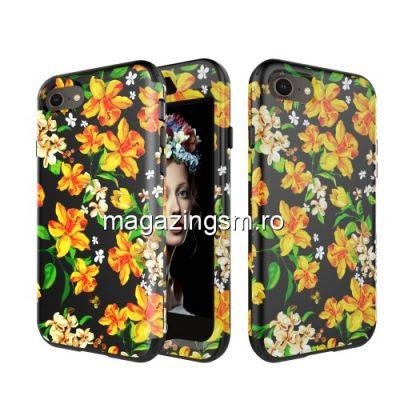 Husa iPhone 7 Acoperire Completa Galbena