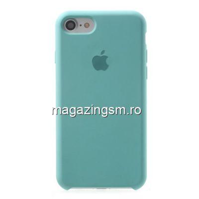 Husa iPhone 7 Silicon Albastru Deschis