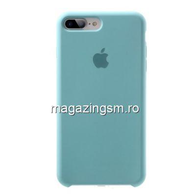 Husa iPhone 7 Plus Silicon Albastra