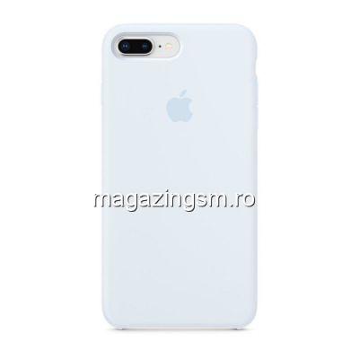 Husa iPhone 8 Plus / iPhone 7 Plus Silicon Albastru Deschis