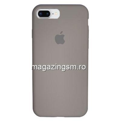 Husa iPhone 8 Plus / iPhone 7 Plus Silicon Bej