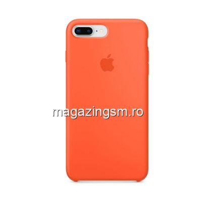 Husa iPhone iPhone 7 Plus Silicon Portocalie