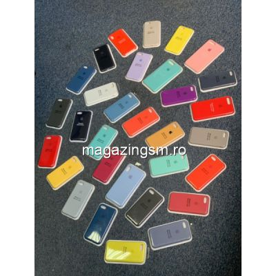 Husa iPhone 8 Plus / iPhone 7 Plus Silicon Roz Prafuit