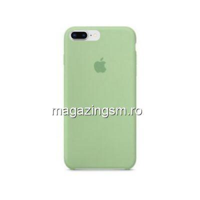 Husa iPhone 8 Plus / iPhone 7 Plus Silicon Verde Deschis