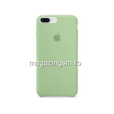 Husa iPhone 8 Plus Silicon Verde Deschis