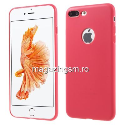 Husa iPhone 8 Plus TPU Matuita Rosie