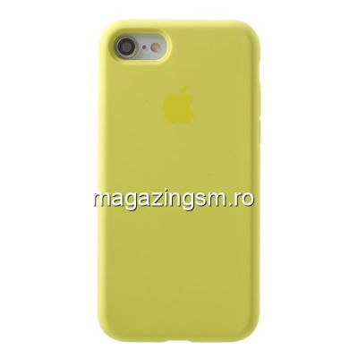 Husa iPhone 7 Silicon Verde