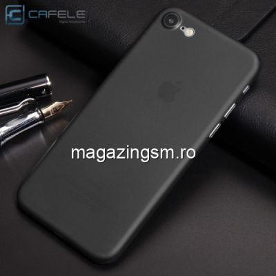 Husa iPhone 8 Slim Matuita Neagra