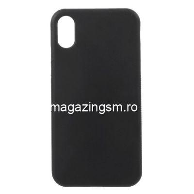 Husa iPhone X 5,8 inch TPU Matuita Neagra