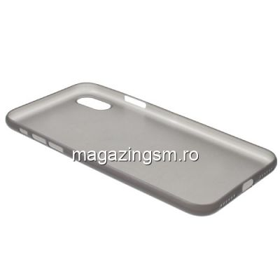 Husa iPhone X Slim Neagra