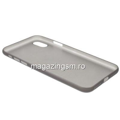 Husa iPhone XS Slim Neagra