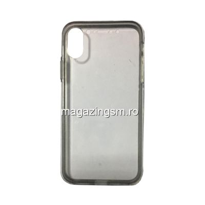 Husa iPhone X / XS Acoperire Completa 360 De Grade Transparenta