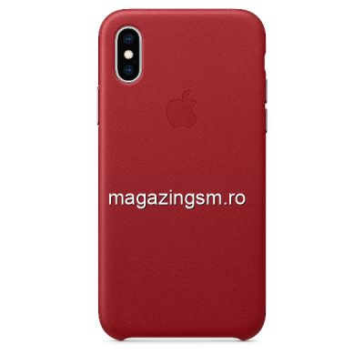 Husa iPhone X / XS Piele Berry