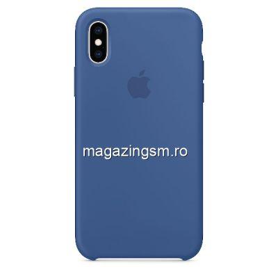 Husa iPhone X / XS Silicon Delft Blue