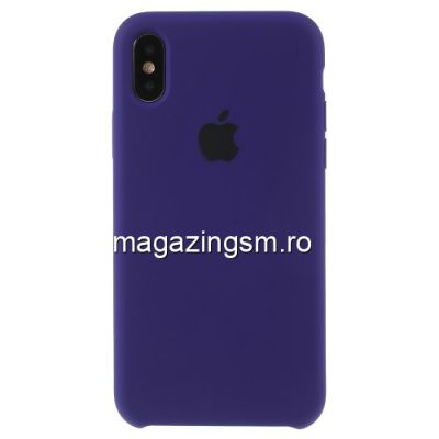 Husa iPhone X / XS Silicon Mov