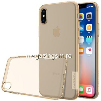 Husa iPhone X XS TPU Maro