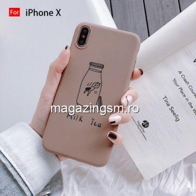 Husa iPhone X / XS TPU Maro