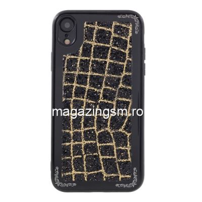 Husa iPhone XR Metalica Neagra