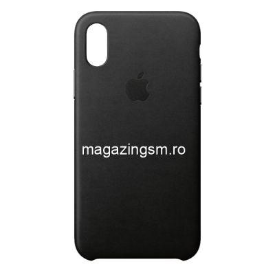 Husa iPhone XR Piele Black