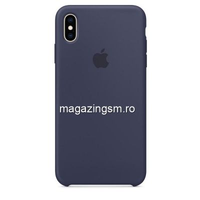 Husa iPhone XR Silicon Midnight Blue