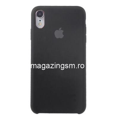 Husa iPhone XR Silicon Neagra