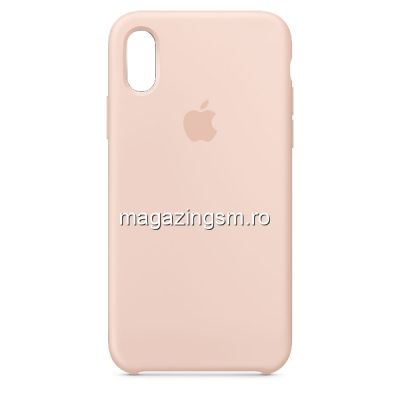Husa iPhone XR Silicon Pink Sand