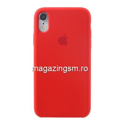 Husa iPhone XR Silicon Red