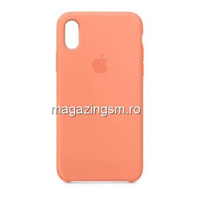 Husa iPhone XR Silicon Roz Piersica
