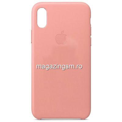 Husa iPhone XR Silicon Roz Prafuit