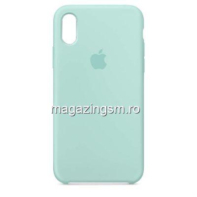 Husa iPhone XR Silicon Turcoaz