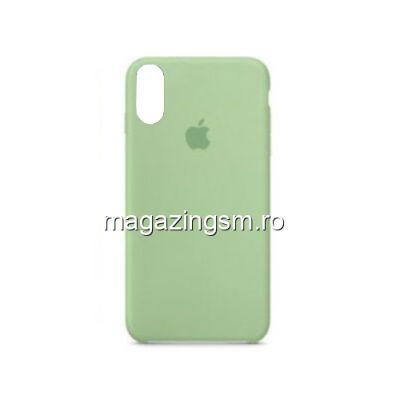 Husa iPhone XR Silicon Verde Deschis