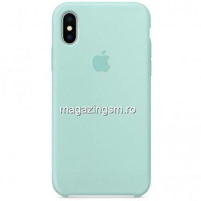 Husa iPhone XR Silicon Marine Green