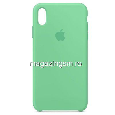 Husa iPhone XR Silicon Vernil