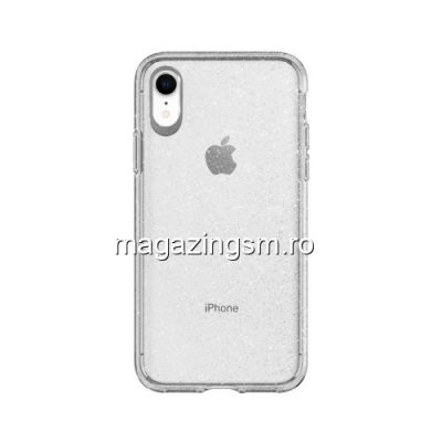 Husa iPhone XR TPU Argintie