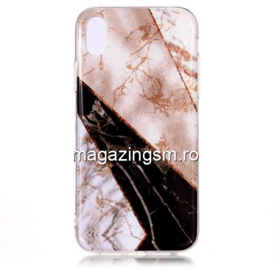 Husa iPhone XR TPU Marble Pattern Multicolora