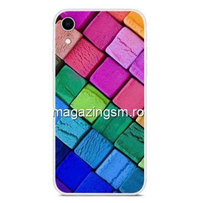 Husa iPhone XR TPU Multicolora