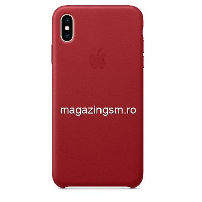 Husa iPhone XS Max Piele Berry