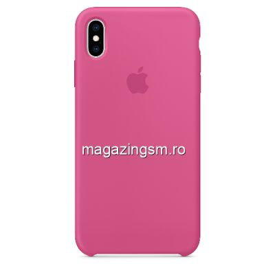 Husa iPhone 11 Pro Max Silicon Pomegranade