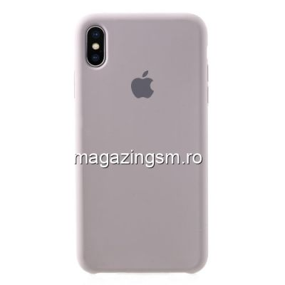 Husa iPhone XS Max Silicon Mov Deschis