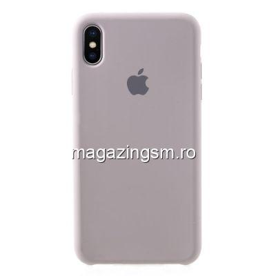 Husa iPhone XS Max Silicon Mov Deschis