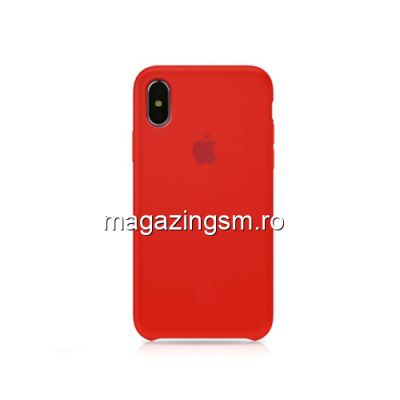 Husa iPhone XS Max Silicon Rosie