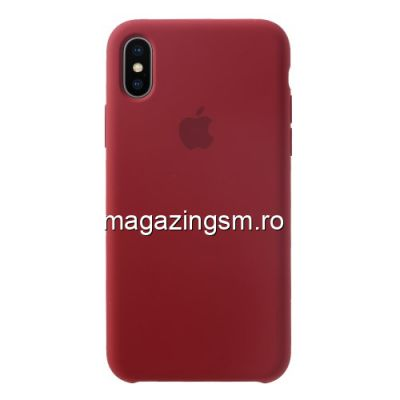 Husa iPhone XS Max Silicon Visinie
