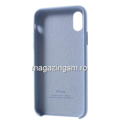 Husa iPhone XS Dura Albastru Deschis